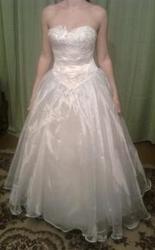 Продам дешево красивое свадебное платье