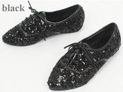 Продам стильные ботинки с паетками